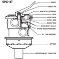 SP0714T Vari-Flo Valve Replacement Parts