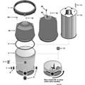 System 2 Modular Media Filter Parts - PLM100-PLM300