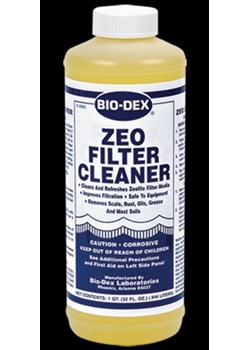 BDZE04-ZEO Filter Cleaner Gal