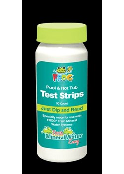 KT3318-FROG® Test Strips For Maintaining Fresh Mineral Water
