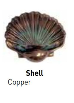 PF5824307-Pentair 5824307 WallSpring Bronze Shell Handhold Decorative Accent.