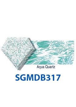 SGMDB317-Diamond Brite Aqua Quartz