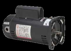 UQC1102-Century  UQC1102 ,Two Compartment Square Flange Pool Filter Motors Single Speed & Energy Efficient , 56Y  - 1 HP.
