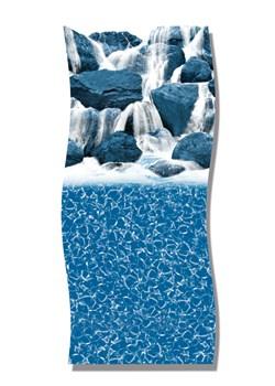 AGL27WFT-27X48/52in Rnd Ovrlp Lnr;Waterfall