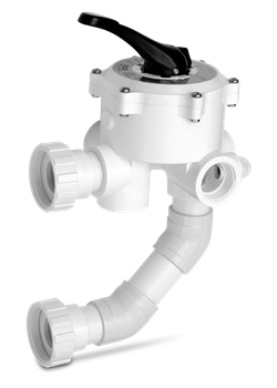 Pentair Water Pool And Spa 263080 Backwash Valve with Inlet