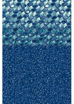 AGBL183854RLW-18x38x54in Oval Bead Lnr;Rolling Wave