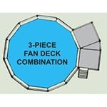 Swim N Play 2 & 3 Piece Fan Decks