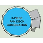 Swim N Play 2 & 3 Piece Fan Decks