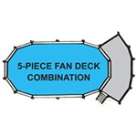 Swim N Play 5 Piece Fan Decks