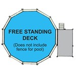 Swim N Play Free Standing Decks