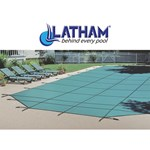 Latham Performance Heavy Duty Solid Rect. Covers w/INVIS-A Drain Panel & Cover Pump
